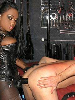 Mother in law femdom male anal torture