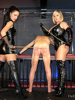 Hand caning negative punishment