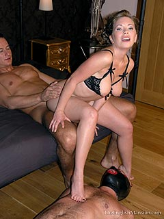 Femdom teasing domination and submission