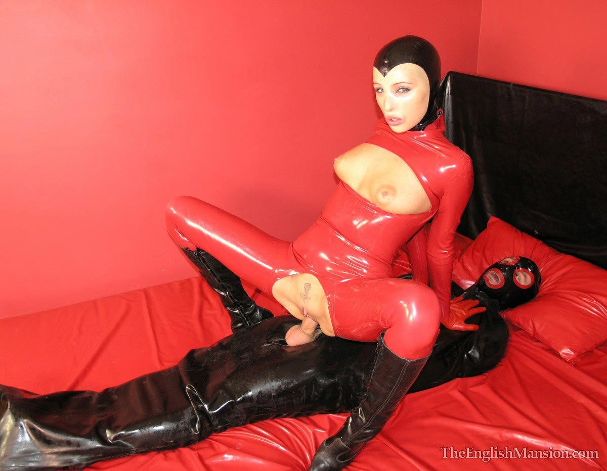 Fucking femdom fetish latex sex