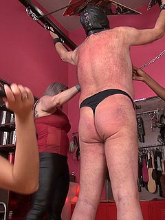 Spanking punishment british bondage