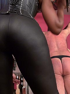 Foot dominatrix female domination bondage