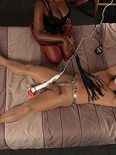 Chastity games femdom hubby