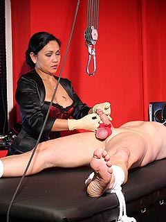 Painful cbt punishment game