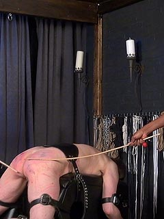 Dominatrix cbt sexy caning