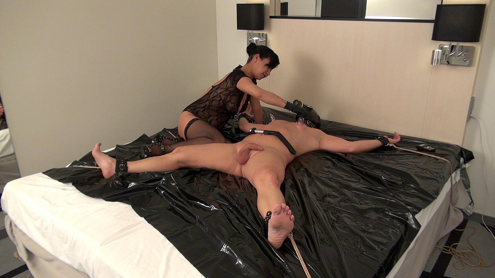 Bdsm husband punished