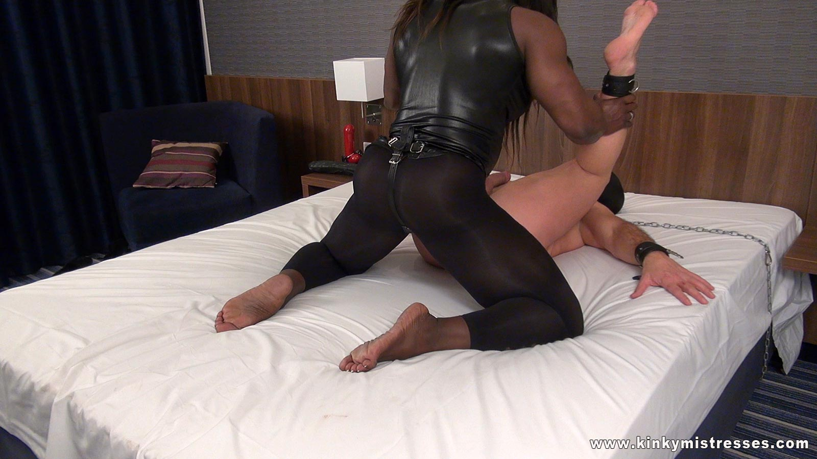 Ass Anal Torture - Extreme anal torture leather dominatrix