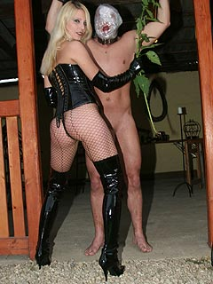Hot blond naked dominatrix guide