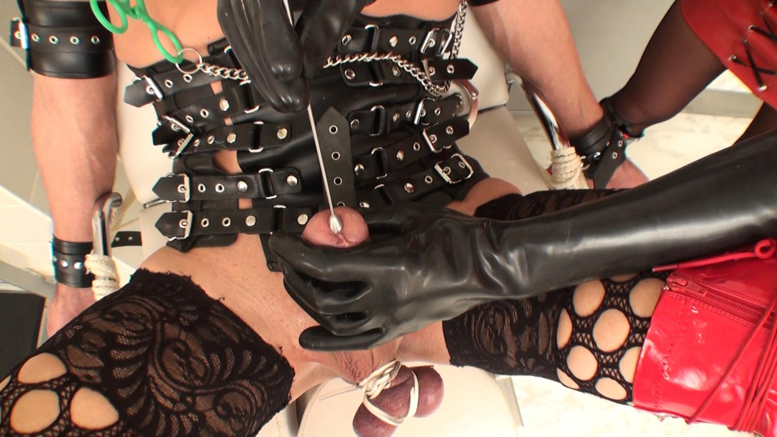 Femdom slave contract anal fist porn