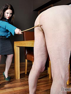 Caning audition whipping therapy