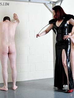 Femdom domination bullwhipped
