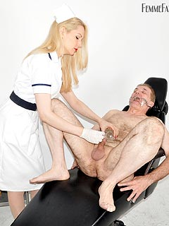 Handjob domination painful cbt
