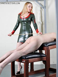 Strap on punishment blonde hair with lowlights