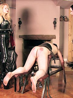 Trample femdom brutal anal punishment