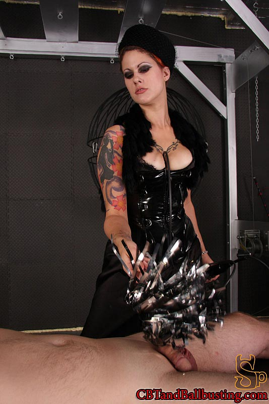 Homemade cbt dominatrix clothing