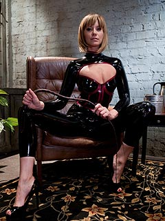 Costume latex vinyl catsuit