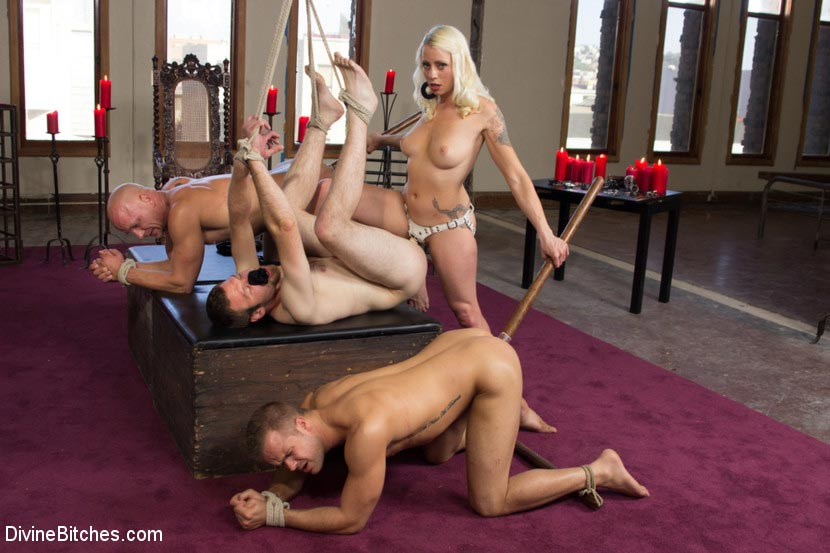 Femdom pic corporal punishment to