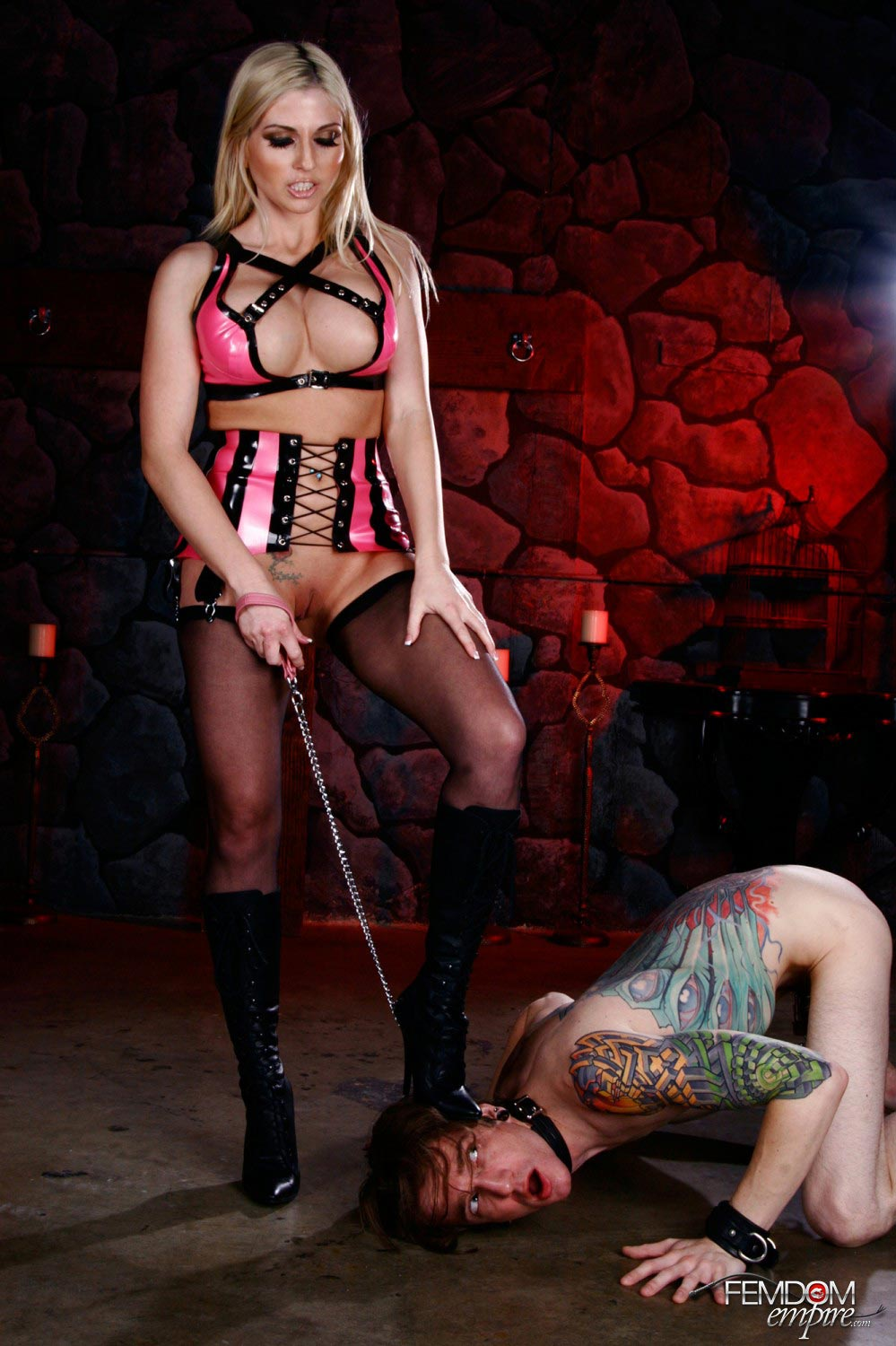 Humiliation and forced sex femdom anal worship