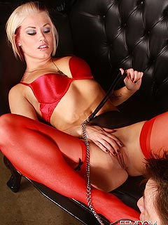 Femdom seduction punishment porn