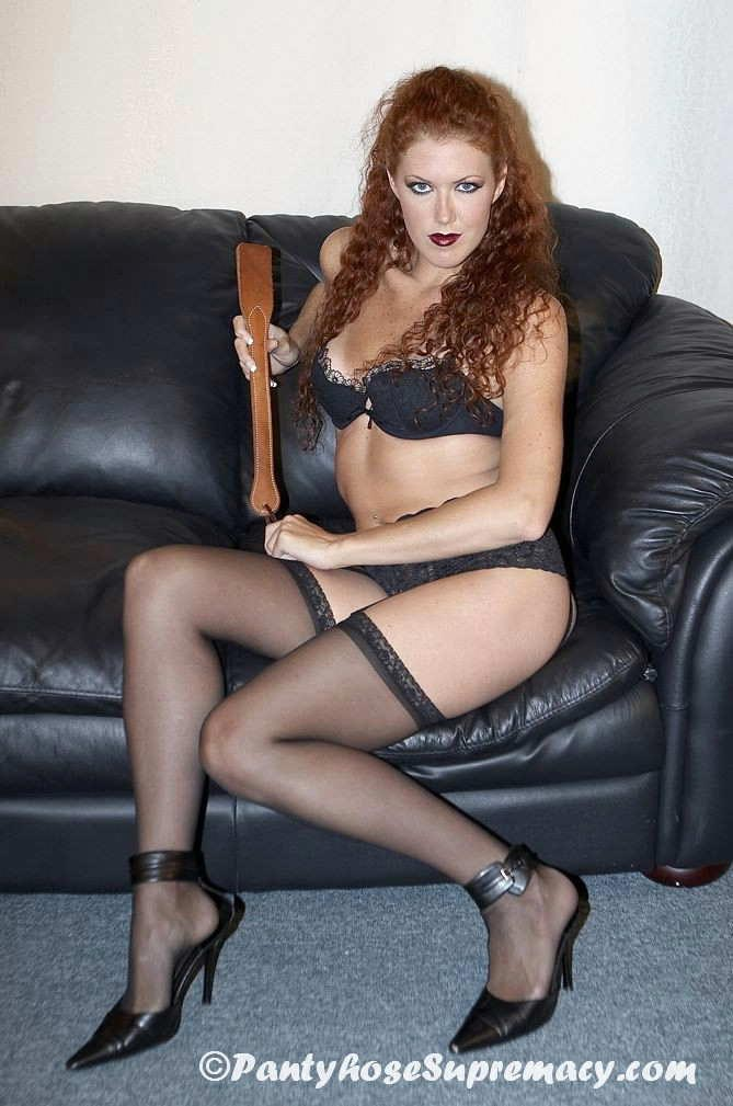 Pictures of black stockings and high heels female dominate sex
